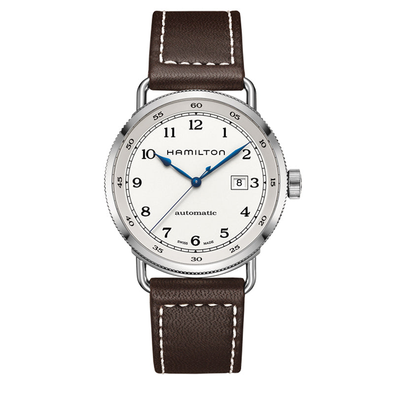 Hamilton Khaki Navy Pioneer Automatic Silver Dial Watch