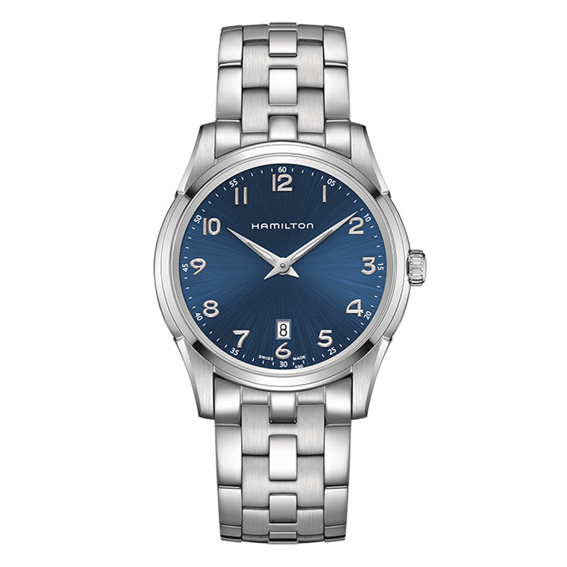 Hamilton Jazzmaster Thinline Quartz Blue Dial Watch