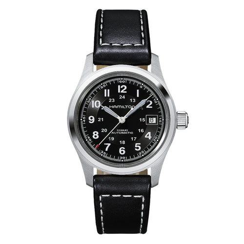 Hamilton Khaki Field Auto Black Dial Watch
