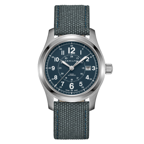 Hamilton Khaki Field Auto Blue-Grey Dial Watch