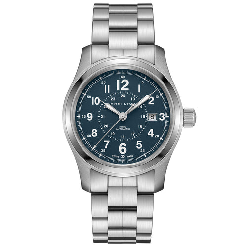 Hamilton Khaki Field Auto Slate Blue Dial Watch