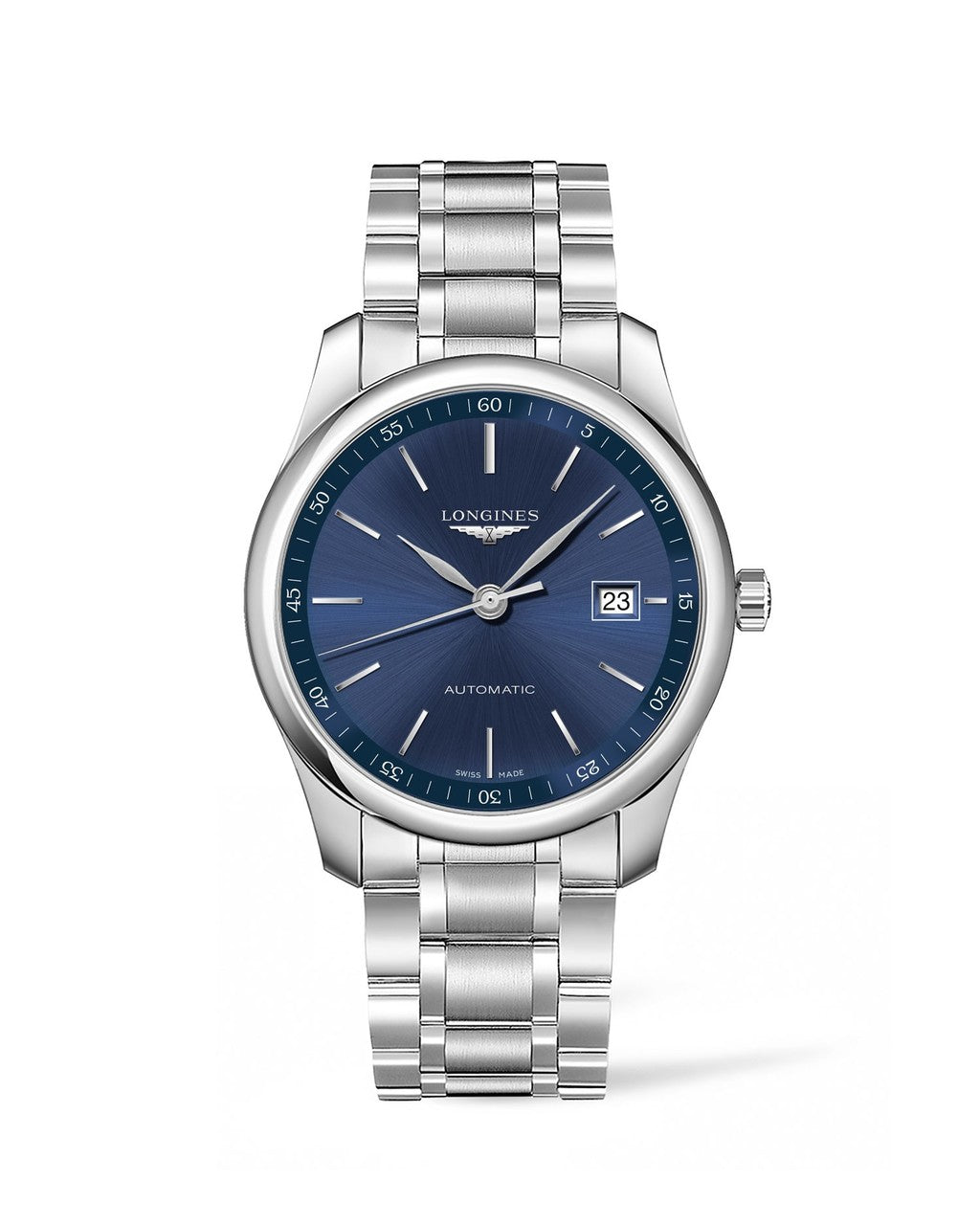 Longines Master Collection 40mm Stainless Steel Blue Dial Gent's Watch