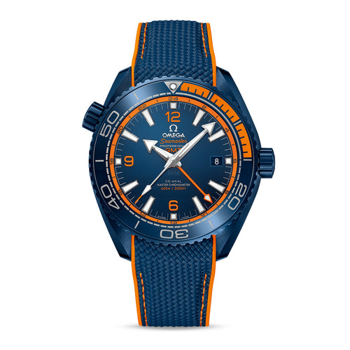 "OMEGA Seamaster Planet Ocean 600M OMEGA Co-Axial Master Chronometer GMT 45.5mm ""Big Blue"""