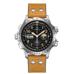 Hamilton Khaki X-Wind Day-Date Auto Chrono Black Dial Watch
