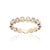 Load image into Gallery viewer, Sabel Collection Bezel Set Diamond Stacking Ring in 14K Yellow Gold