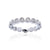 Load image into Gallery viewer, Sabel Collection Bezel Set Diamond Stacking Ring in 14K White Gold
