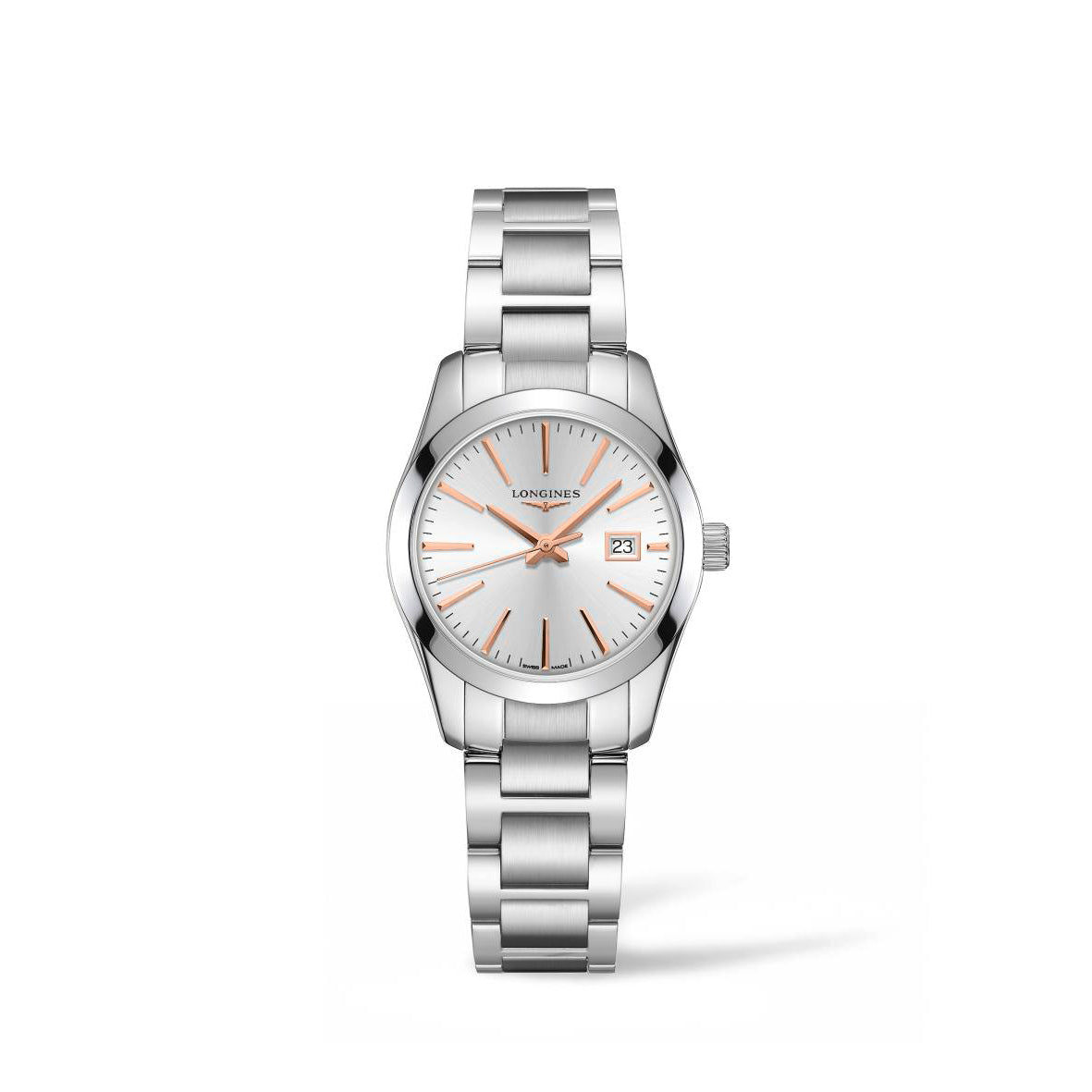Longines Conquest Classic Collection 29.5mm Silver Dial Ladies' Watch