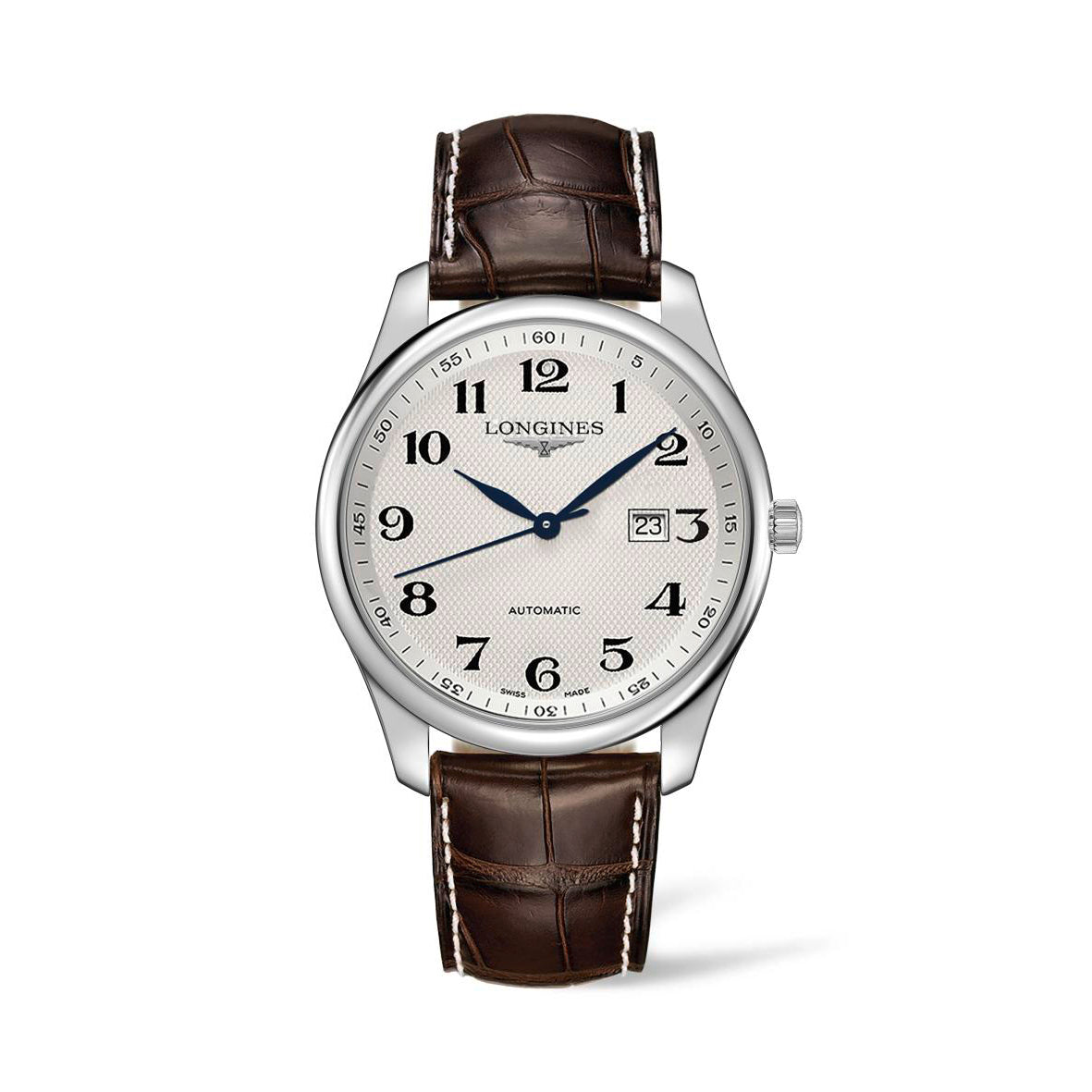 Longines Master Collection 42mm Silver Dial Gent's Watch