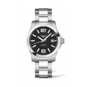 Longines Conquest Collection 39mm Black Dial Gent's Watch