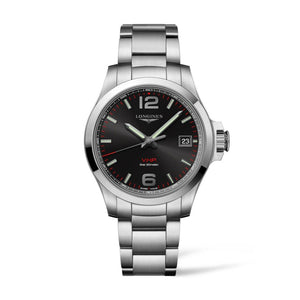 Longines Conquest V.H.P. Collection 41mm Black Dial Gent's Watch