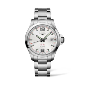 Longines Conquest V.H.P. Collection 41mm Silver Dial Gent's Watch
