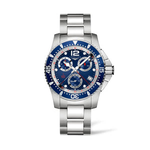 Longines HydroConquest Collection 41mm Stainless Steel Blue Dial Chronograph Gent's Watch