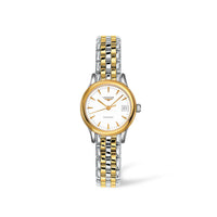 Longines Flagship Collection 26mm Two-Tone White Dial Ladies' Watch