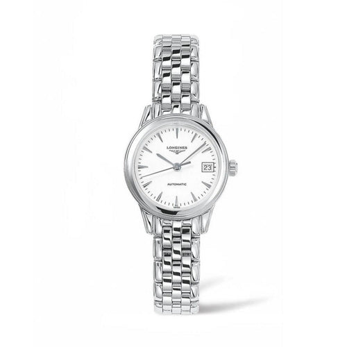 Longines Flagship Collection 26mm Stainless Steel White Dial Ladies' Watch