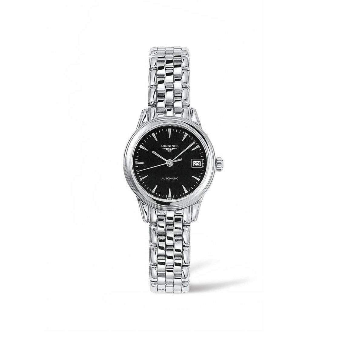 Longines Flagship Collection 26mm Black Dial Ladies' Watch