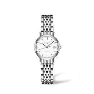 Longines Elegant Collection 25mm Automatic White Dial Ladies' Watch