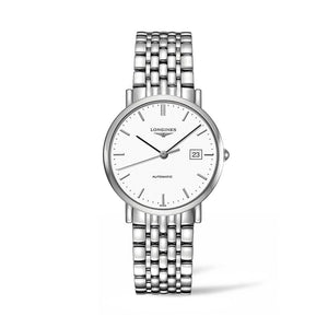 Longines Elegant Collection 37mm Automatic White Dial Gent's Watch