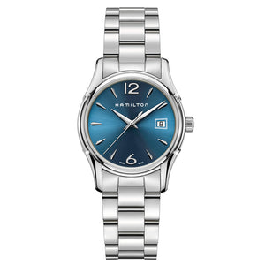 Hamilton Ladies' Jazzmaster Lady Quartz Blue Dial Watch