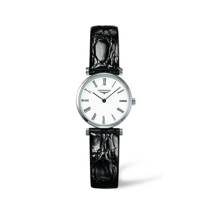 Longines La Grande Classique Collection 24mm White Matte Dial Ladies' Watch
