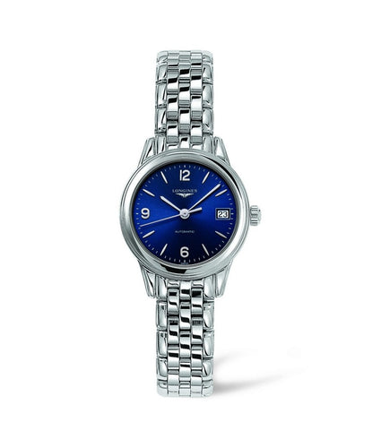 Longines Flagship Collection 26mm Stainless Steel Navy Blue Dial Ladies' Watch