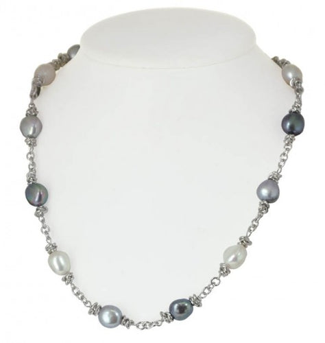 Honora Color Crush Grey Shade Necklace