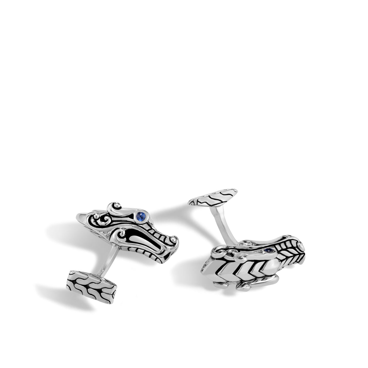 John Hardy Men's Legends Naga Sterling Silver Cufflinks