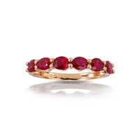 Marco Moore 18K Rose Gold Oval Ruby Ring