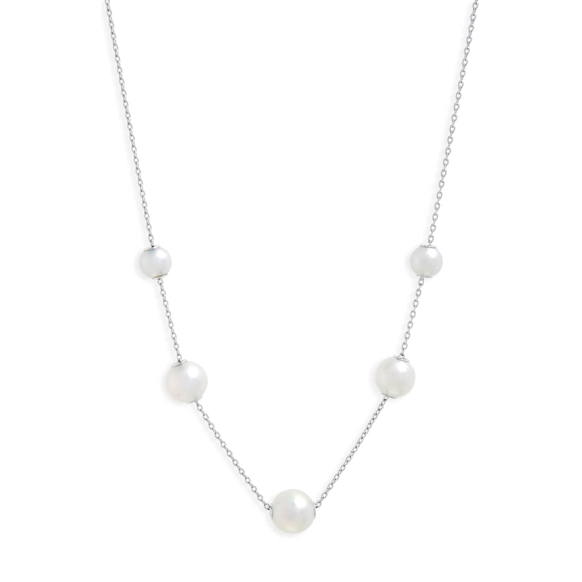 Mikimoto 7.5mm Graduated Akoya Pearls in Motion Necklace