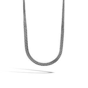 John Hardy Classic Chain Sterling Silver Graduated Sautoir Necklace