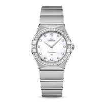 OMEGA Constellation Manhattan Quartz 28mm with Diamonds