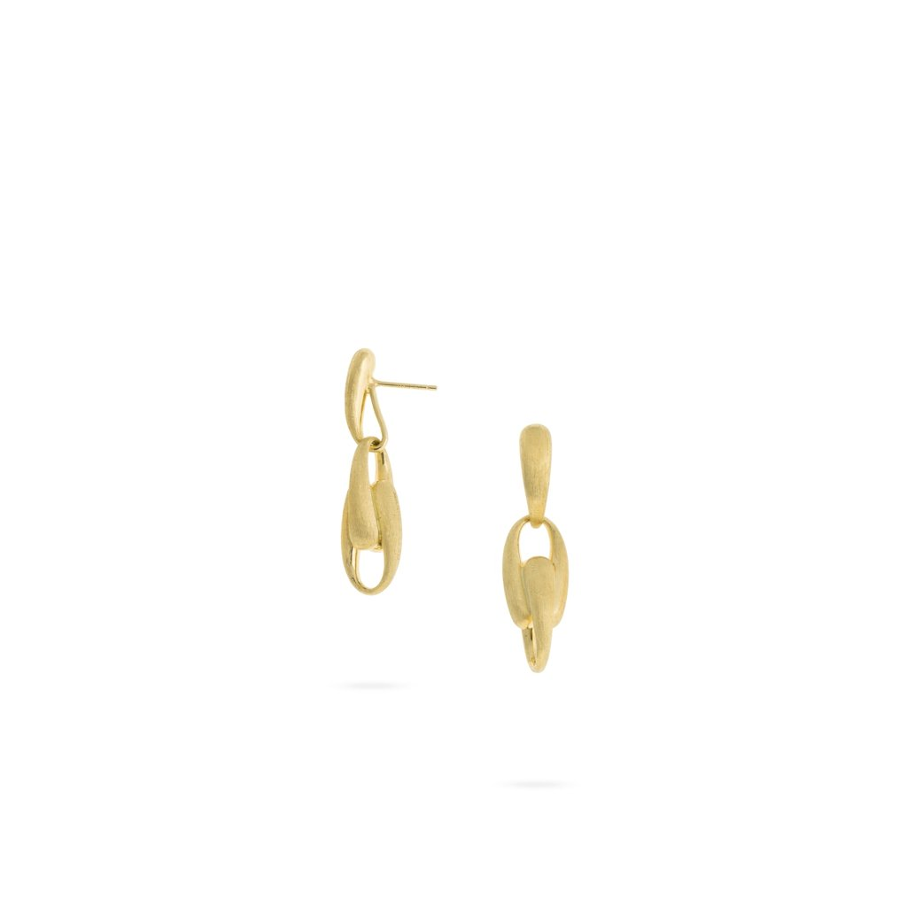 Marco Bicego Lucia 18K Yellow Gold Link Drop Earrings