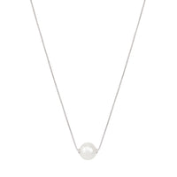 Sabel Pearl 14K White Gold 8.5-9mm White Pearl Necklace