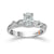 Load image into Gallery viewer, Fink's Exclusive 14K White Gold Oval Center Stone Engagement Ring