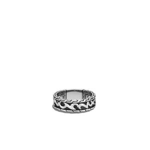 John Hardy Men's Classic Chain Sterling Silver Keris Dagger Band Ring