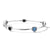 Load image into Gallery viewer, IPPOLITA Rock Candy® Sterling Silver Five Stone Station Bangle in Astro Colorway
