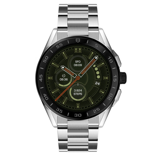 TAG Heuer Connected Modular 45mm Watch with Steel Bracelet