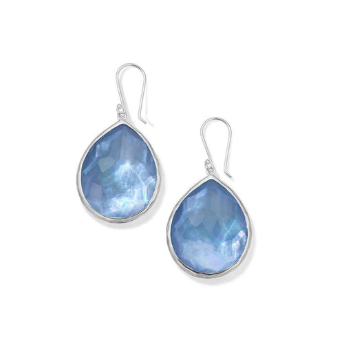 IPPOLITA Wonderland Sterling Silver Large Gemstone Teardrop Earrings