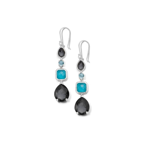 IPPOLITA Rock Candy® Sterling Silver Four Stone Linear Earrings