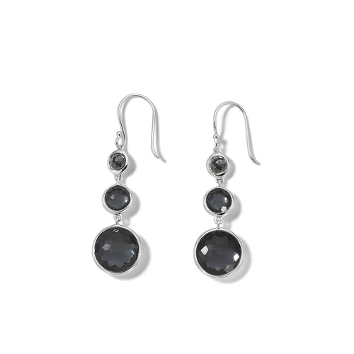IPPOLITA Lollipop® Sterling Silver Small Lollitini Drop Earrings in Hematite Doublet