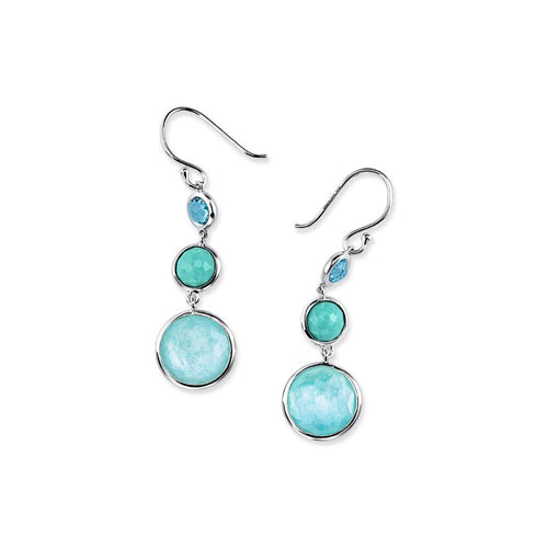 IPPOLITA Lollipop® Sterling Silver Small Lollitini Drop Earrings in Waterfall