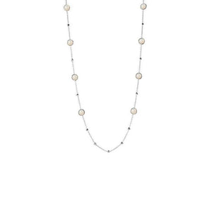 IPPOLITA Rock Candy® Mixed Ball and Stone Station Necklace in Mother-of-Pearl