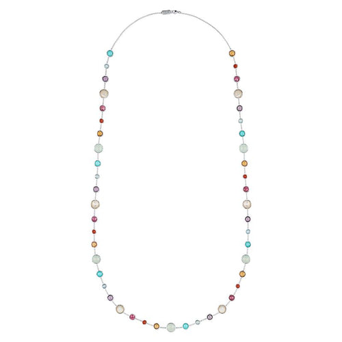 IPPOLITA Lollipop® Sterling Silver Lollitini Long Gemstone Station Necklace