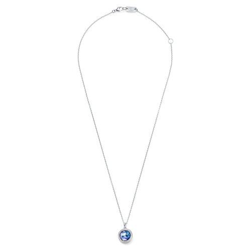 IPPOLITA Lollipop® Clear Quartz, Mother-of-Pearl, Lapis Triplet Pendant Necklace