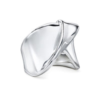 IPPOLITA Classico Sterling Silver Folded Ribbon Ring