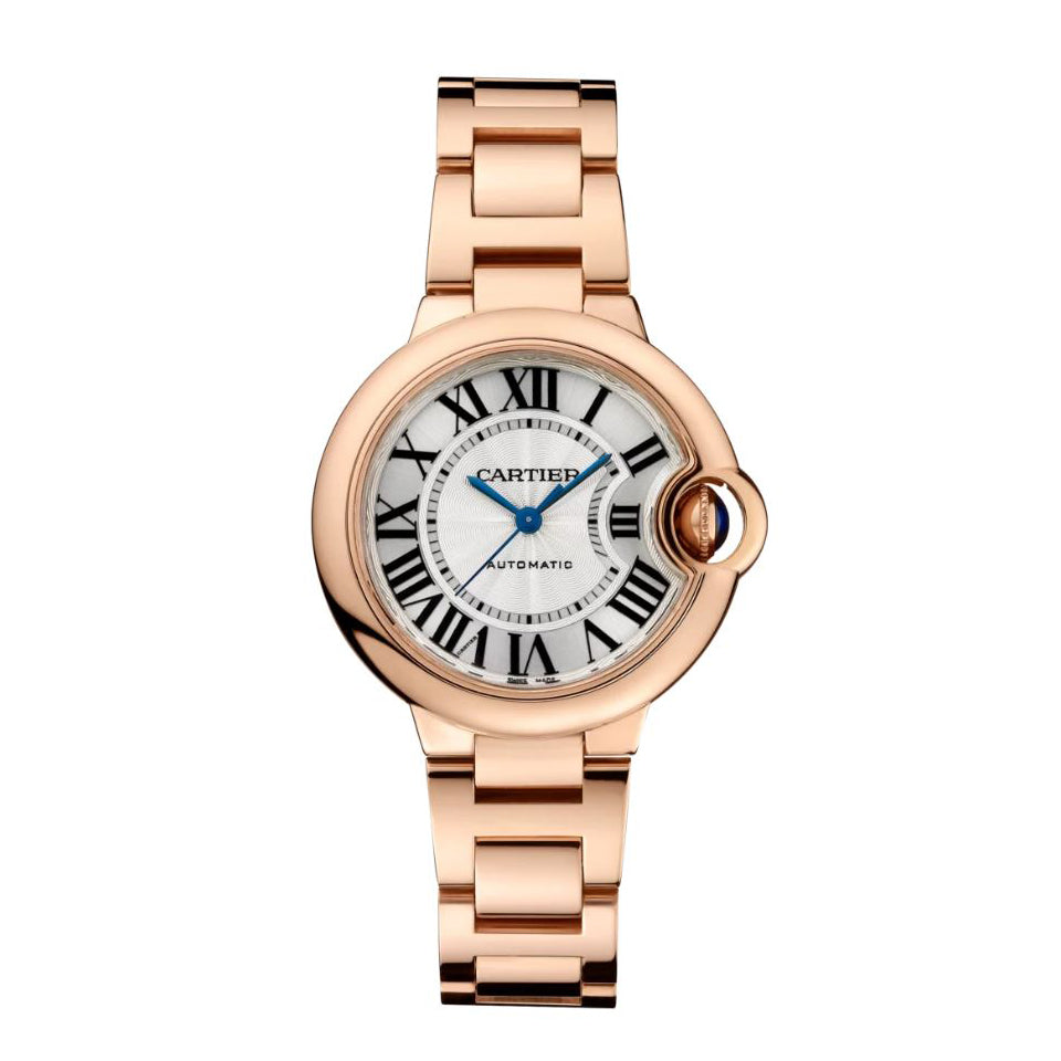 Ballon Bleu de Cartier 33 mm Pink Gold Watch