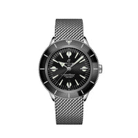 Breitling Superocean Heritage '57 Steel with Black Dial and Steel Bracelet - Available for Pre-Order
