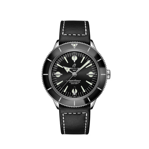 Breitling Superocean Heritage '57 Steel with Black Dial - Available for Pre-Order