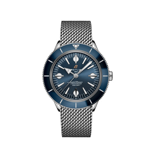 Breitling Superocean Heritage '57 Steel with Blue Dial and Steel Bracelet - Available for Pre-Order