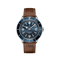 Breitling Superocean Heritage '57 Steel with Blue Dial and Leather Strap - Available for Pre-Order