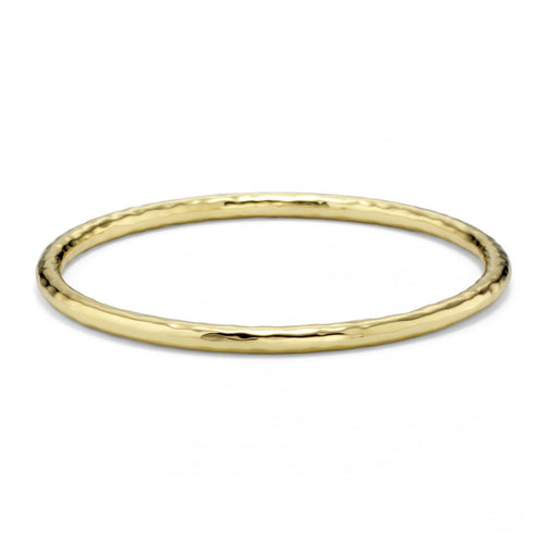IPPOLITA Classico 18K Yellow Gold Hammered #2 Bangle